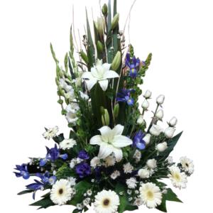 Arreglos Florales de Rosas Blancas