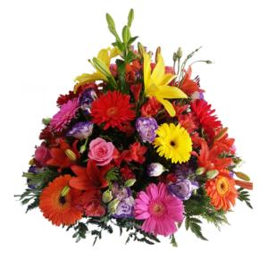 Arreglo de flores mixtas grande