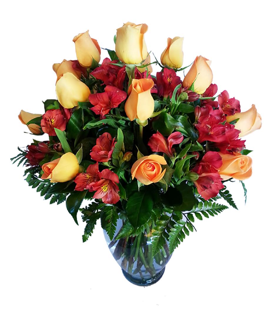 Flores Naturales En Florero Flores Nicte Arreglos Florales