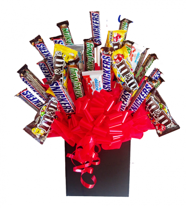 Candy bouquet chocolates
