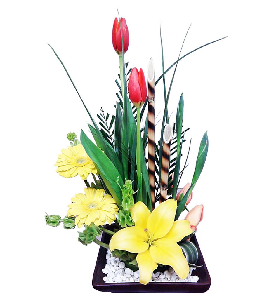 Arreglo De Flores Naturales Mixto Grande
