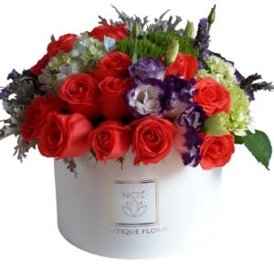 Caja de flores variada