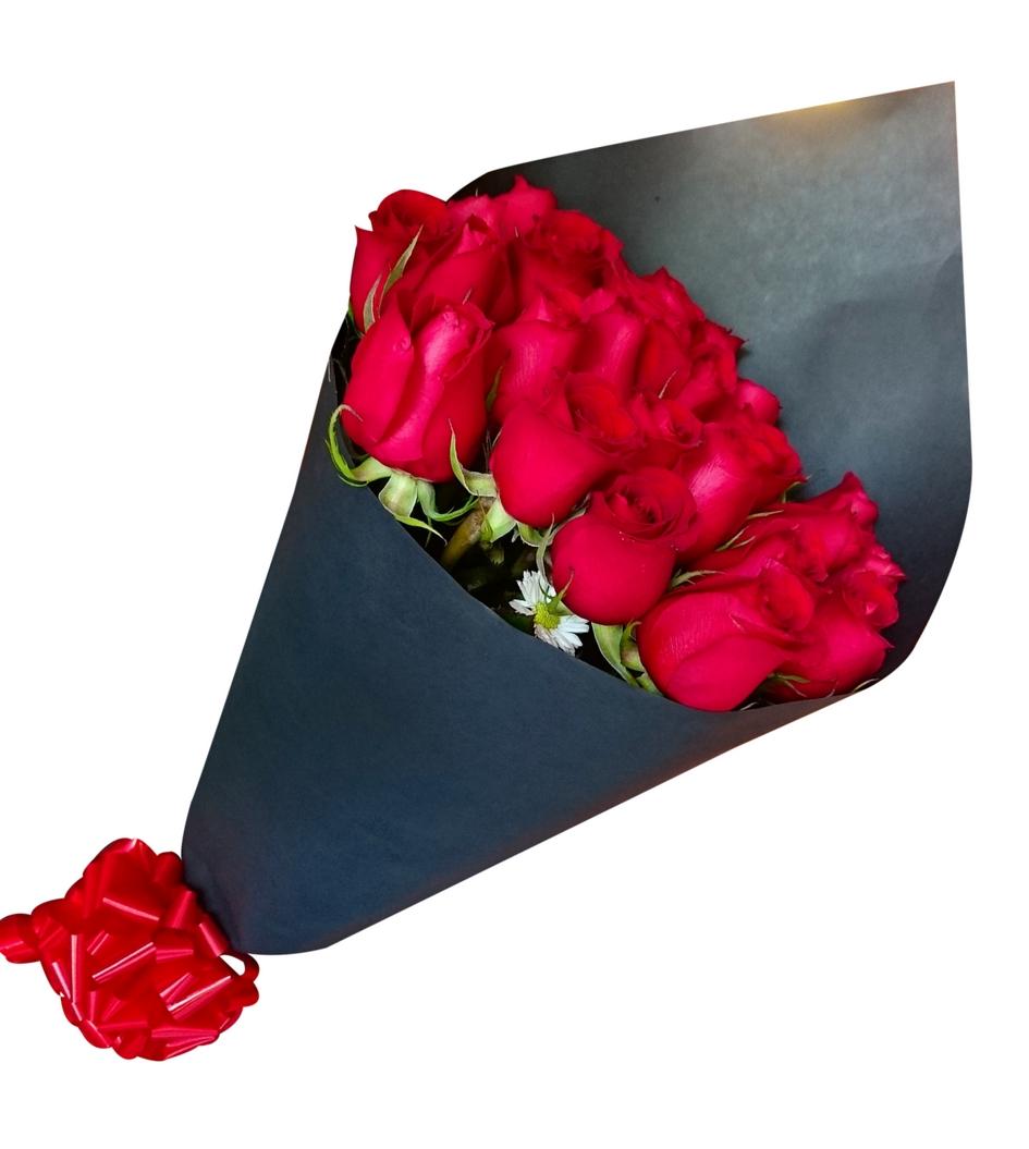Ramo De 24 Rosas Rojas Flores Nicté