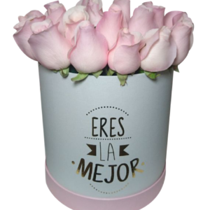 Caja de rosas «Eres la mejor» II