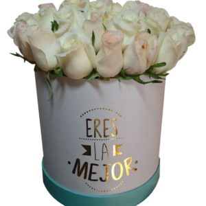Caja de flores «Eres la mejor» III