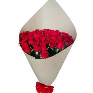Ramo de 48 rosas rojas