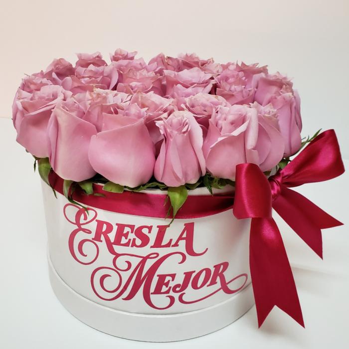 Caja de Rosas eres la mejor