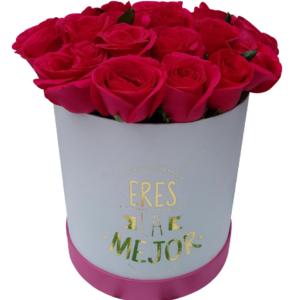 Caja de flores «Eres la mejor» IV